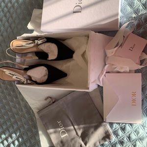 Dior Slingback Kitten heels